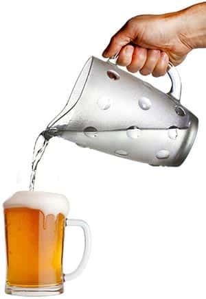 Agua para cerveza