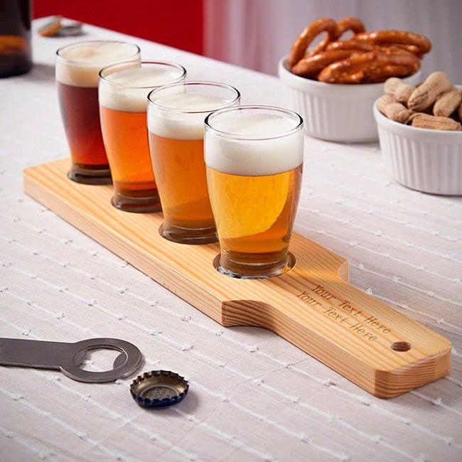 Maridajes con Beer Flights